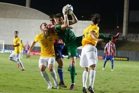 Brasil teve o controle da partida durante todo o tempo Foto  Gilson Borba    Futura f16a9baa4b24d