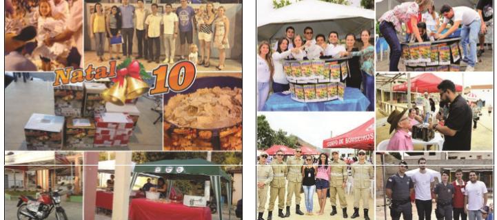 A Campanha Natal 10 e a Campanha da Colheita foram dois eventos realizados com grande sucesso pela CDL pavoense