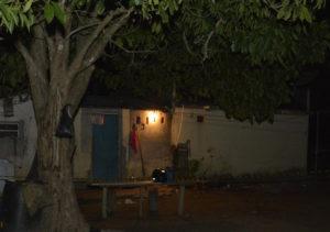 O casal foi morto a tiros durante a noite da última terça-feira (23), no quintal da residência, no interior de Presidente Kennedy. Foto: Fábio Jordão