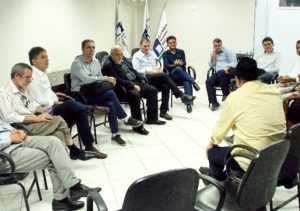 ocorrido na manhã desta quinta-feira (01) no auditório da CDL de Barra de São Francisco.