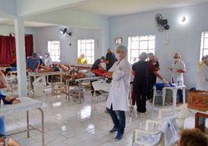 Atendimentos foram realizados na Igrejona nos dias 21 e 22 de outubro