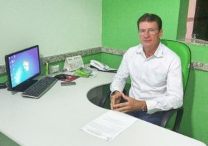 O produtor rurual e sindicalista Ademir Casaro