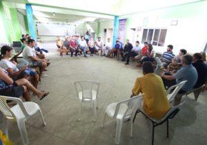 Secretário interino reuniu a comunidade para anunciar as benfeitorias